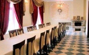 zdjęcie sali konferencyjnej, Pałacyk w Lisewie, Skulsk