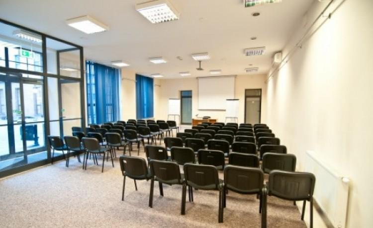 zdjęcie sali konferencyjnej, Centrum Biznesowe Faktoria, Łódź