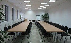 zdjęcie sali konferencyjnej, Lloyd Woodley English Language Centre, Łódź