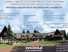 Centrum Obsługi KPRM Kompleks Recepcyjno-Wypoczynkowy Łańsk