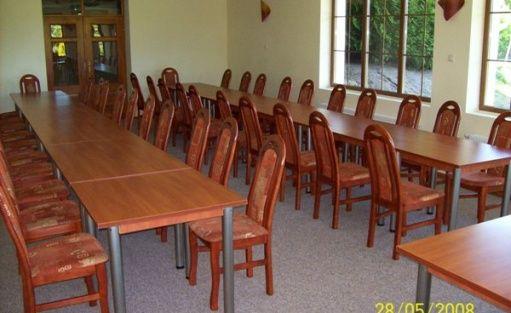 zdjęcie sali konferencyjnej, Janus, Ruciane-Nida