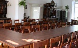 zdjęcie sali konferencyjnej, Pałac Janowice, Janowice