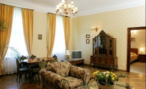 zdjęcie pokoju, Pałac Szczepowice, Wolkowo
