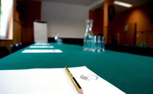 zdjęcie sali konferencyjnej, Jansowo - Ośrodek Szkoleń i Rekreacji, Kuślin