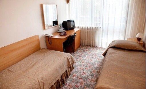 zdjęcie pokoju, Centrum Szkoleniowo Wypoczynkowe Energetyk, Nałęczów