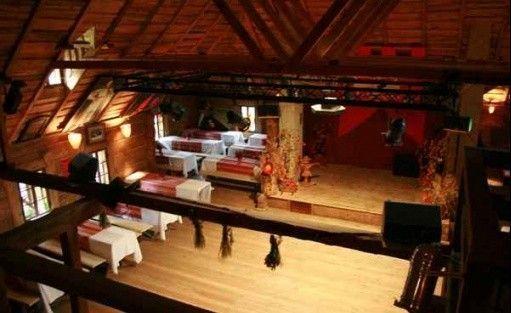 zdjęcie sali konferencyjnej, Sielska Osada Firleje, Żabia wola