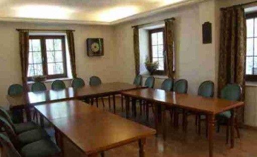 zdjęcie sali konferencyjnej, Centrum Edukacji Felberg SJA, Chyliczki