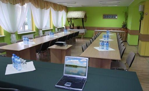zdjęcie sali konferencyjnej, Hotel Leśnik, Augustów