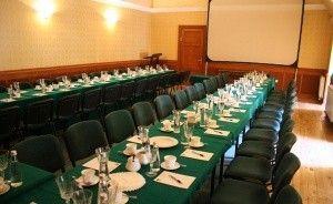 zdjęcie sali konferencyjnej, Hotel Bursztynowy Pałac, Świeszyno