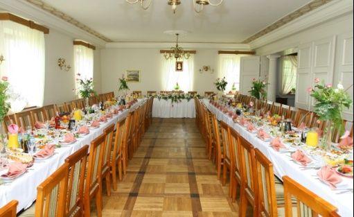 zdjęcie sali konferencyjnej, Dwór Mościbrody, Siedlce