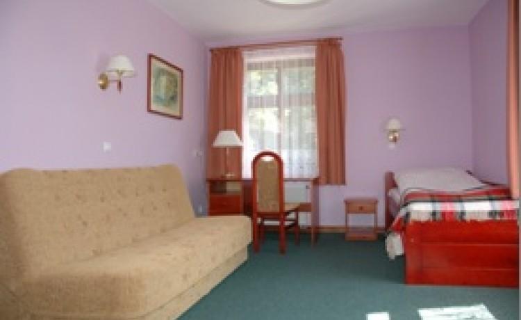 zdjęcie pokoju, Pałac Witosław, Osieczna