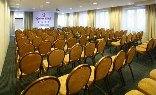 zdjęcie sali konferencyjnej, Qubus Hotel Gdańsk, Gdańsk