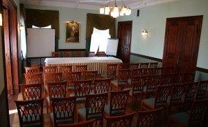 zdjęcie sali konferencyjnej, Zamek von Treskov, Strykowo