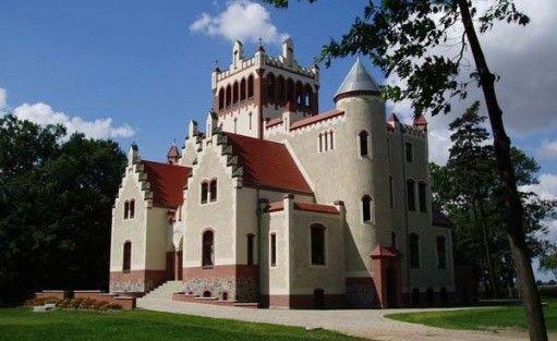 zdjęcie obiektu, Zamek von Treskov, Strykowo