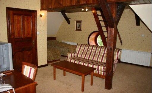zdjęcie pokoju, Zamek von Treskov, Strykowo