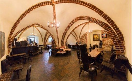 zdjęcie sali konferencyjnej, Zamek Joannitów, Łagów