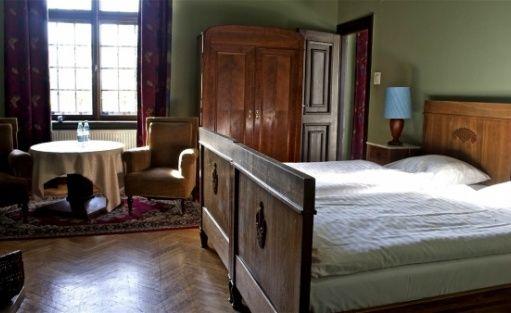 zdjęcie pokoju, Zamek Joannitów, Łagów