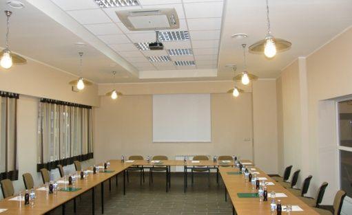 zdjęcie sali konferencyjnej, Cubus event Centrum Szkoleniowo-Biesiadne, Łodygowice