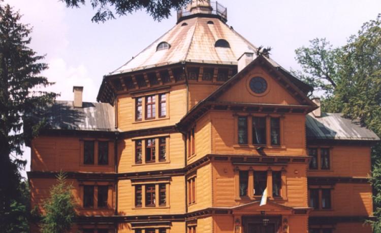 zdjęcie obiektu, Pałac Myśliwski Książąt Radziwiłłów w Antoninie, Przygodzice