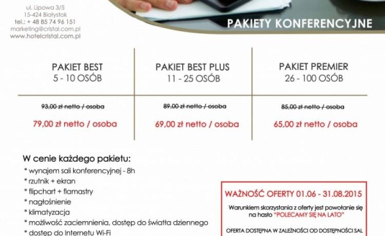 zdjęcie sali konferencyjnej, Best Western Hotel Cristal, Białystok