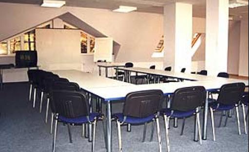 zdjęcie sali konferencyjnej, Stadion Leśny, Sopot