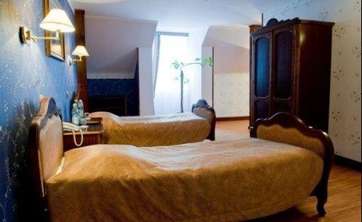 zdjęcie pokoju, Pałac Ossolińskich, Sterdyń