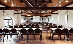 zdjęcie sali konferencyjnej, Siedlisko Morena, Stare Juchy
