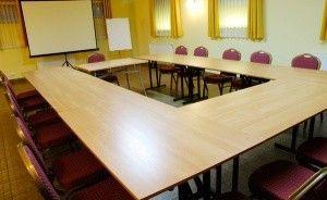 zdjęcie sali konferencyjnej, Rezydencja Spalska, Spała