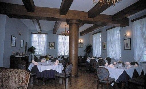 zdjęcie sali konferencyjnej, Dwór w Bychowie Sp. Z o.o., Gniewino