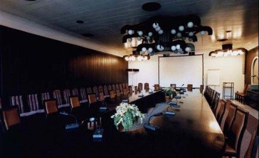 zdjęcie sali konferencyjnej, Zespół Rezydencjalny 'PARKOWA', Warszawa