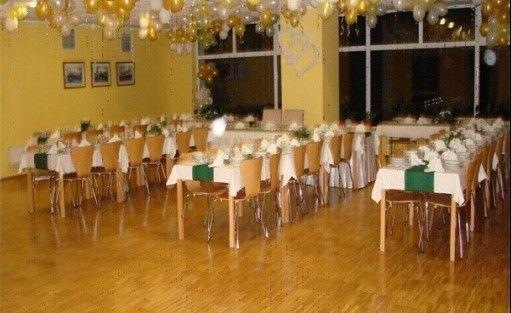 zdjęcie sali konferencyjnej, Ośrodek wypoczynkowy ,,Nad srebrnym, Czaplinek