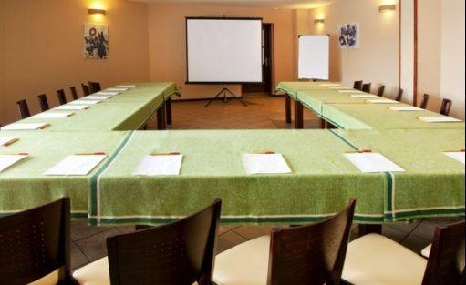 zdjęcie sali konferencyjnej, Hotel KUR, Olsztyn