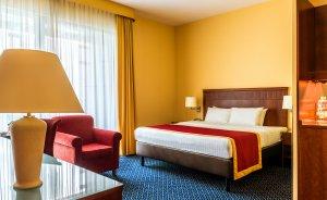 Sypialnia w Apartamencie Chopina