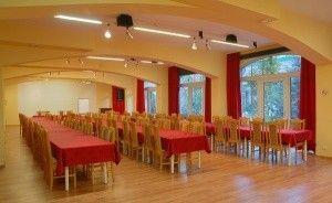 zdjęcie sali konferencyjnej, Hotel Las, Piechowice
