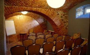 zdjęcie sali konferencyjnej, Dwór Kaliszki, Biała Piska