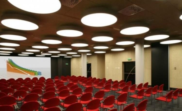 zdjęcie sali konferencyjnej, Forum 76. Business Centre, Łódź
