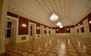 zdjęcie sali konferencyjnej, Pałac Książęcy w Żaganiu, Żagań