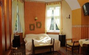 zdjęcie pokoju, Pałac Krześlice, Krześlice