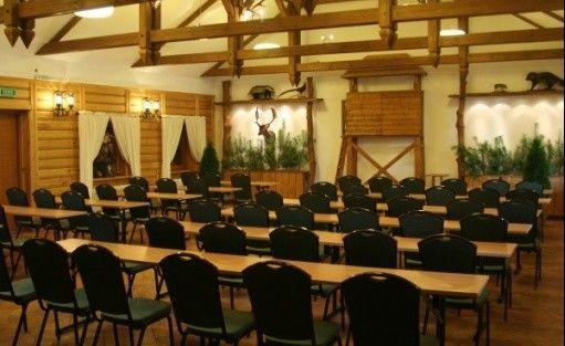 zdjęcie sali konferencyjnej, Centrum Konferencyjno - Rekreacyjne 'Osada Karbówko', Ciechocin