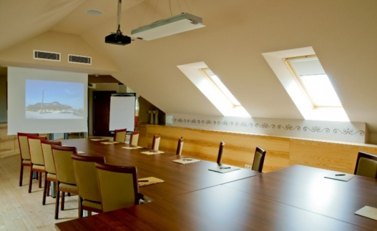 zdjęcie sali konferencyjnej, Chochołowy Dwór, Jerzmanowice