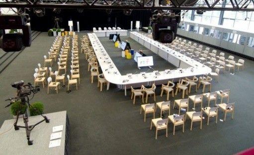 zdjęcie sali konferencyjnej, Hala Stulecia Wrocławskie Centrum Kongresowe (WCK) , Wrocław
