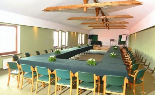 zdjęcie sali konferencyjnej, Krakowskie Centrum Konferencyjne DWÓR W TOMASZOWICACH, Modlnica