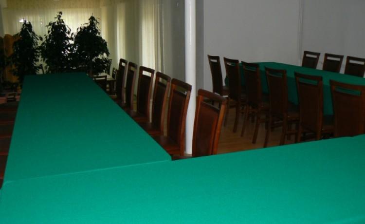 zdjęcie sali konferencyjnej, Ośrodek  Wypoczynkowy , Zwierzyniec
