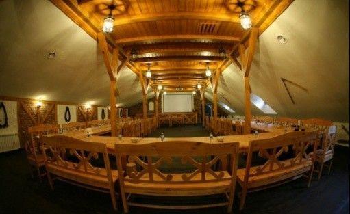 zdjęcie sali konferencyjnej, Lipowy Gościniec, Otwock Wielki