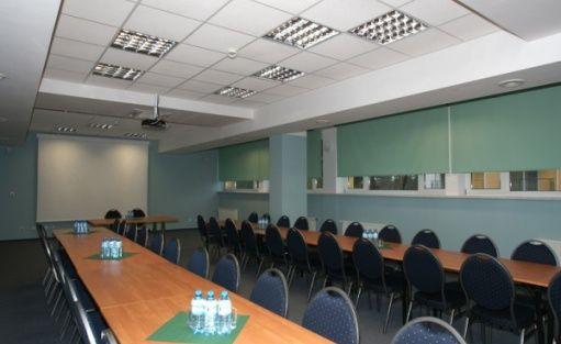 """zdjęcie sali konferencyjnej, Ośrodek Rehabilitacyjno-Wypoczynkowy """"Syrena"""", Mielno"""