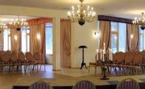 zdjęcie sali konferencyjnej, Pałac Maciejewo, Mciejewo