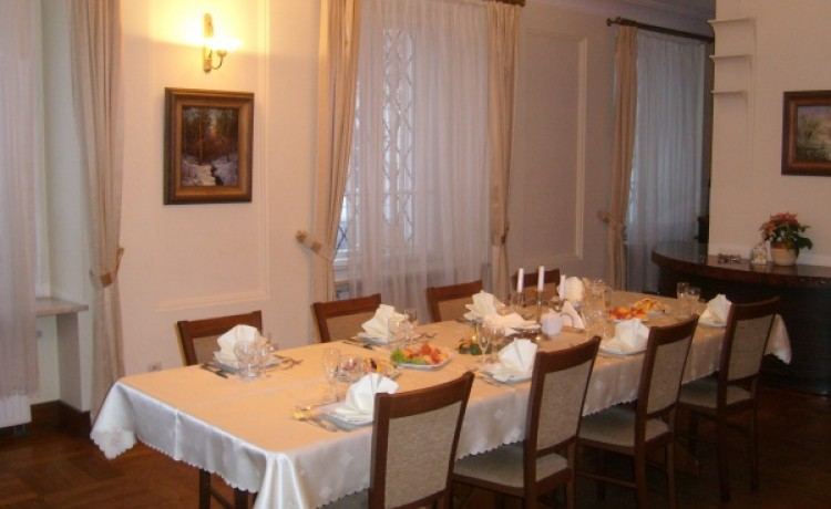 zdjęcie sali konferencyjnej, Dom i Klub Lekarza, Warszawa