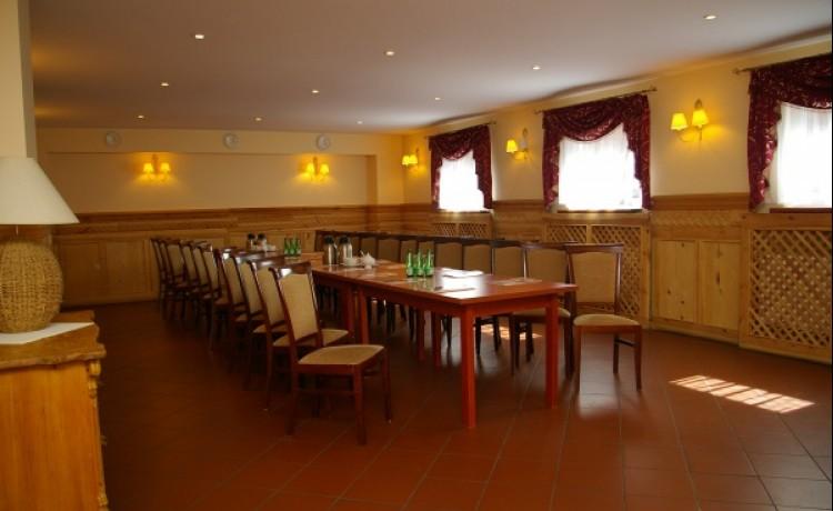 zdjęcie sali konferencyjnej, Hotel-Restauracja Chata Karczowiska, Legnica
