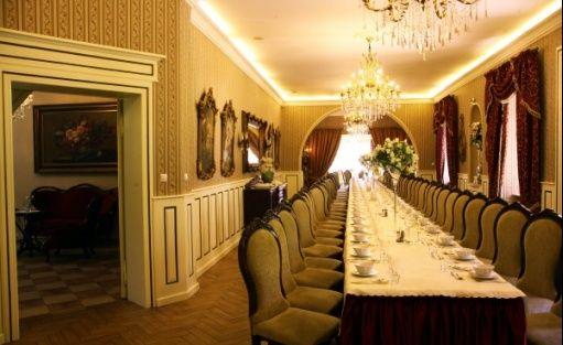 zdjęcie sali konferencyjnej, Dakowski Dwór, Opalenica