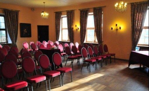 zdjęcie sali konferencyjnej, *** Hotel Podewils - XV-wieczny Zamek Rycerski w Krąg, Polanów